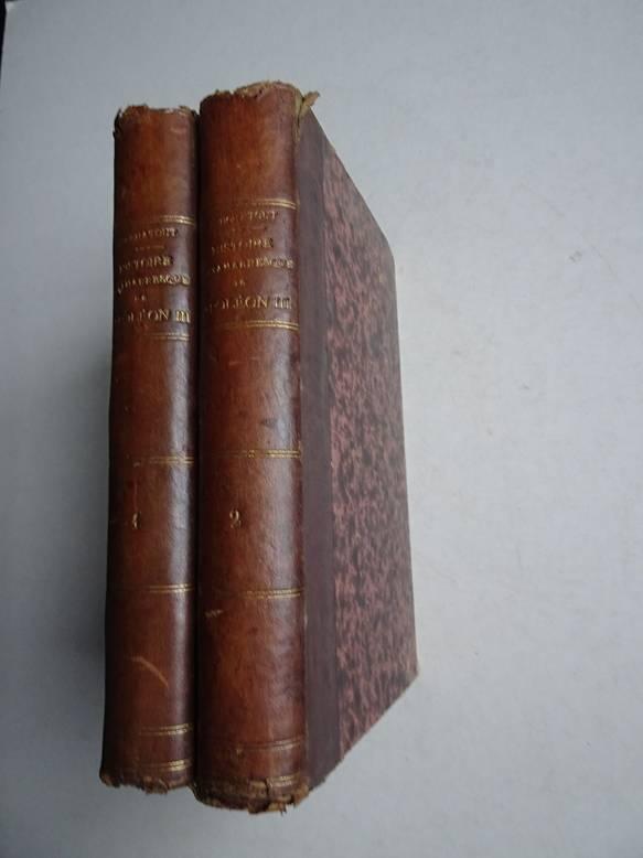 TOUCHATOUT. - L'Histoire tintamarresque de Napoléon III. I: Les Années de chance. II: La Dégringolade  impériale. 2 Volumes.