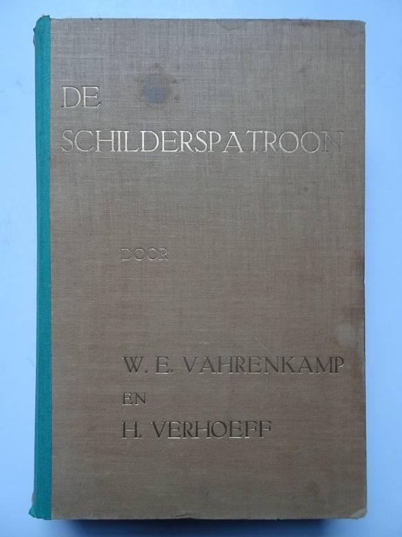 VAHRENKAMP, W.E. AND VERHOEFF, H.. - De schilderspatroon. Afdeeling I: Weergave en overzicht der Vestigingswet. Afd. II: Boekhouden. Afd. III: Handelsonderricht. Afd. IV: Vakbekwaamheid. Afd. V: Vaktechnische encyclopedie. Afd. VI: Woordenboek.