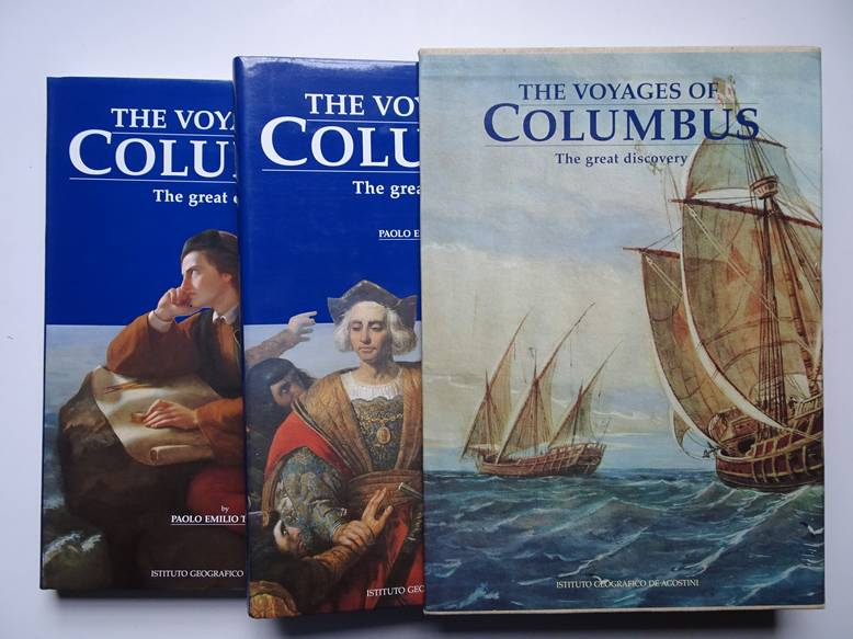 TAVIANI, PAOLO EMILIO. - The voyages of Columbus. The great discovery. Vol. 1 and 2.