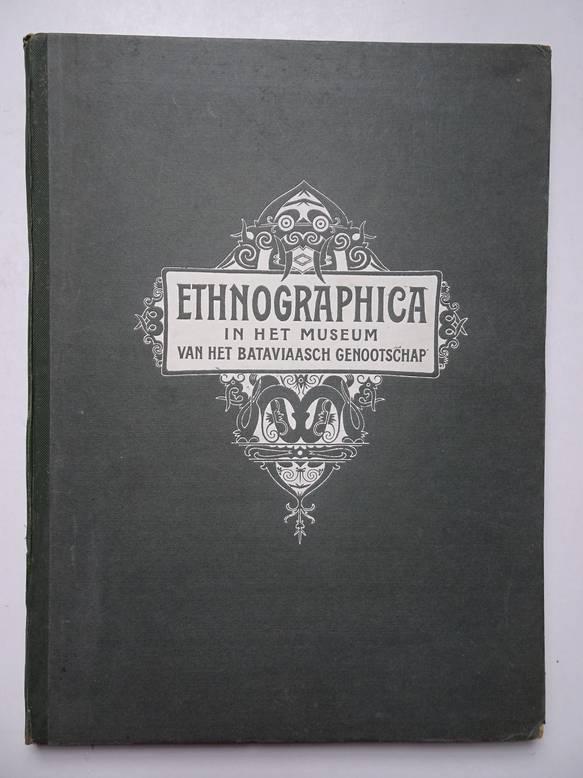TEILLERS, J.W.. - Ethnographica in het museum van het Bataviaasch genootschap van kunsten en wetenschappen te Batavia (Java).