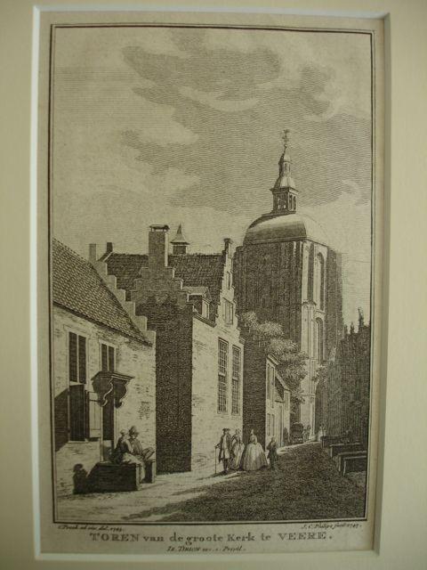 VEERE.. - Toren van de groote kerk te Veere.