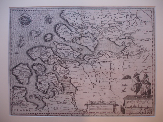 ZEELAND.. - Kaart van Zeeland zonder titelcartouche.