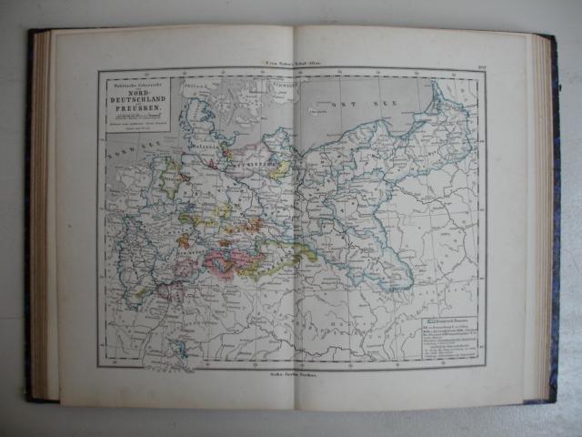 SYDOW, E. VON. - E. von Sydow's Schul-Atlas in zwei und vierzig Karten.