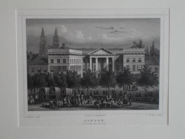 ARNHEM. - Arnhem. Het paleis van Justitie.