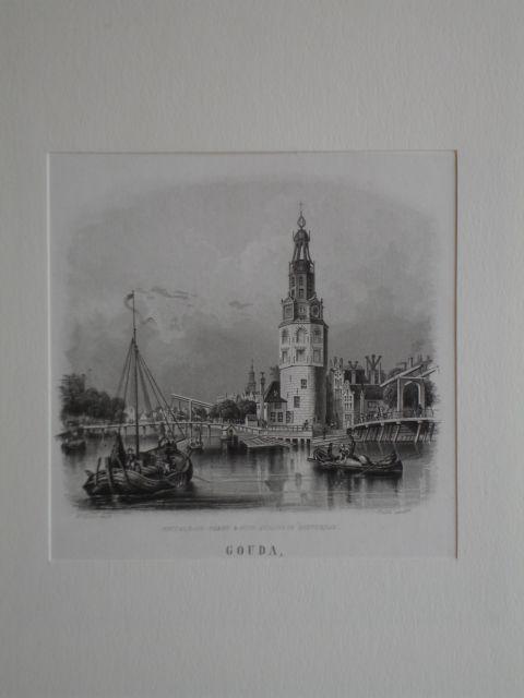 AMSTERDAM.. - Montalbans- toren & Oude Schans in Amsterdam.