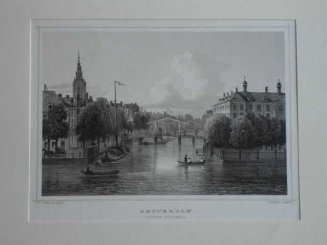 AMSTERDAM.. - Amsterdam. Groene Burgwall.