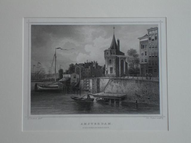 AMSTERDAM.. - Amsterdam. Schreyershoekstoren.