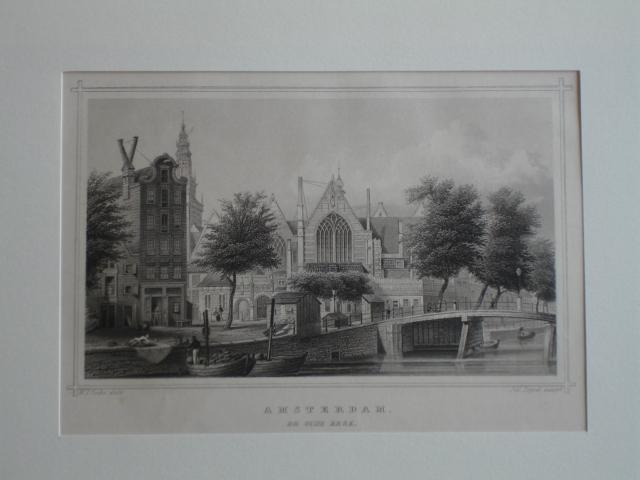 AMSTERDAM.. - Amsterdam. De oude kerk. L'Ancienne Eglise. Die Alte Kirche.