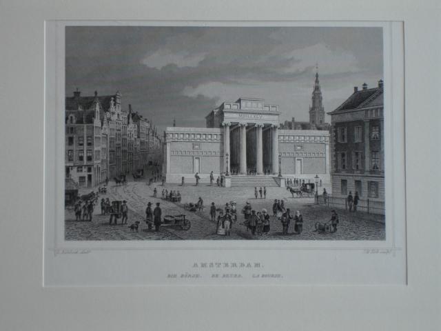 AMSTERDAM.. - Amsterdam. Die Börse. De Beurs. La Bourse.
