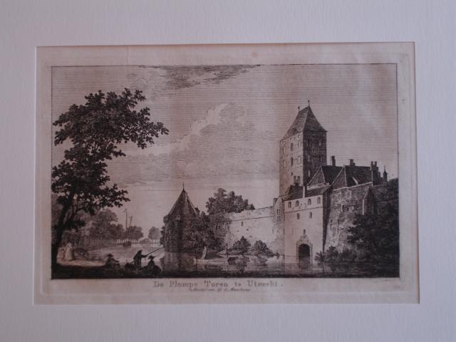 UTRECHT. - De Plompe Toren te Utrecht.