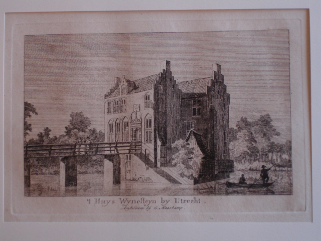 UTRECHT. - 't Huys Wynesteyn by Utrecht.