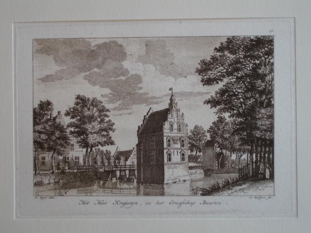 BUREN. - Het huis Krajestyn, in het Graafschap Buuren.