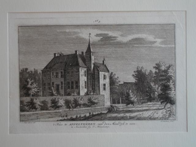 APPELTERN. - 't Huis te Appelthèren van den Maas-dyk te zien.