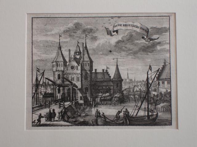 AMSTERDAM.. - Oude Reguliers Poort.
