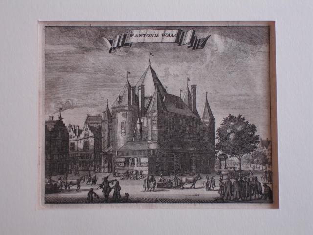 AMSTERDAM.. - St. Antonis Waag.