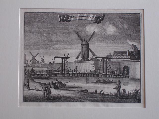 AMSTERDAM.. - Zaagh-Molens Poort.