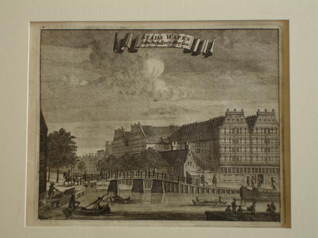 AMSTERDAM.. - Stads Wapen ofte Artellery-Huysen.