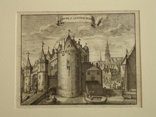 AMSTERDAM.. - Oude St. Antonis Poort.