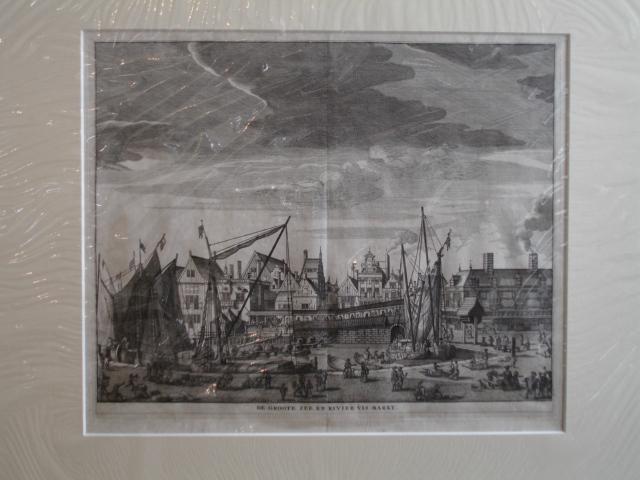 AMSTERDAM.. - De Groote Zee en Rivier Vis Markt.