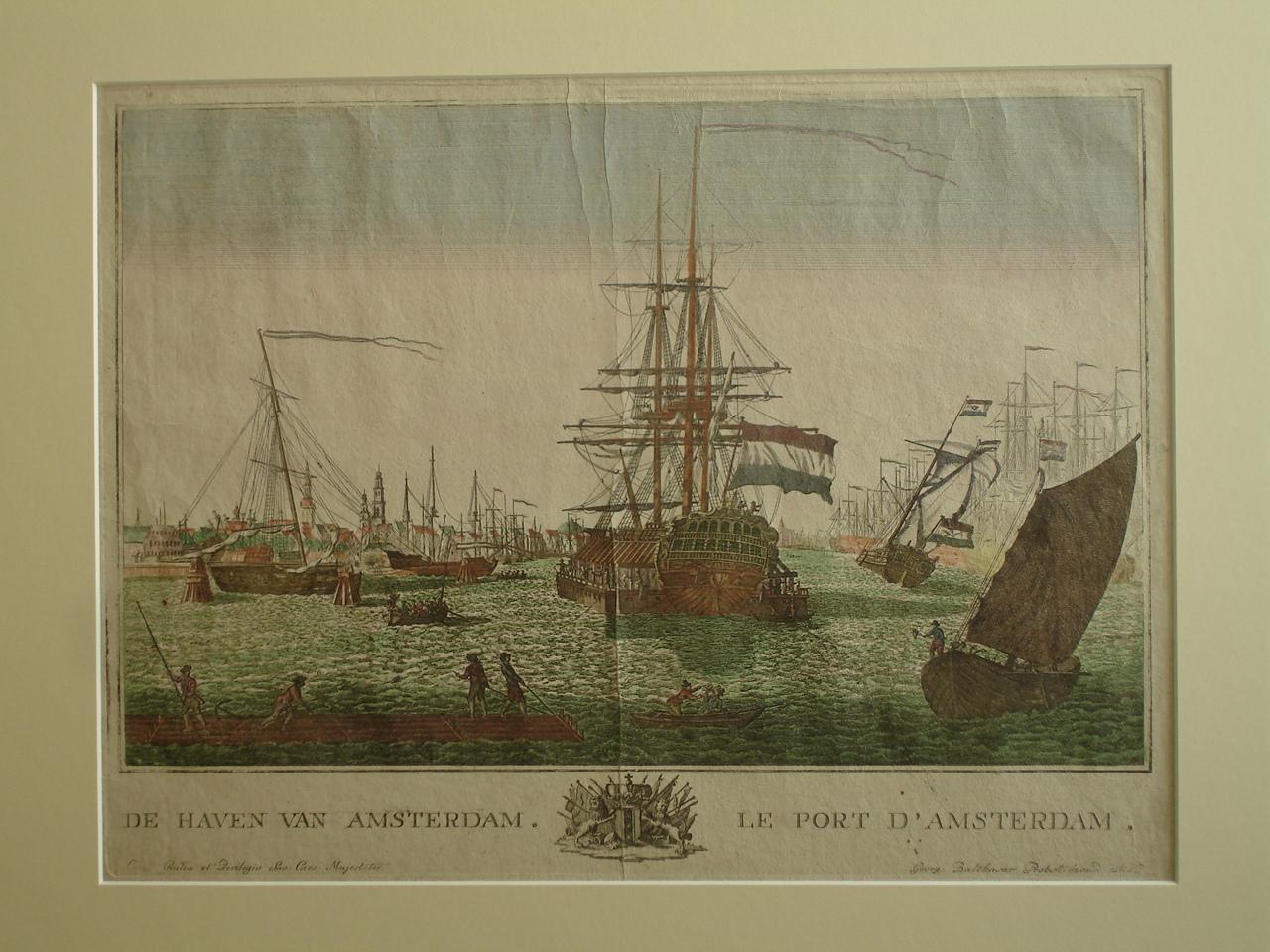 AMSTERDAM.. - De Haven van Amsterdam. Le Port D'Amsterdam.