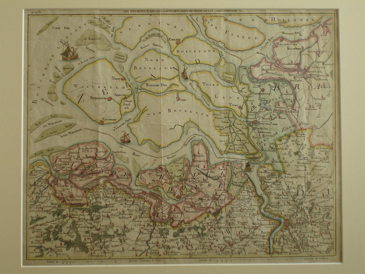 ZEEUWS-VLAANDEREN. - Les Environs D'Anvers, Santvliet, Berg-Op-Zoom, Hulst, Axel, L'Ecluse & c.