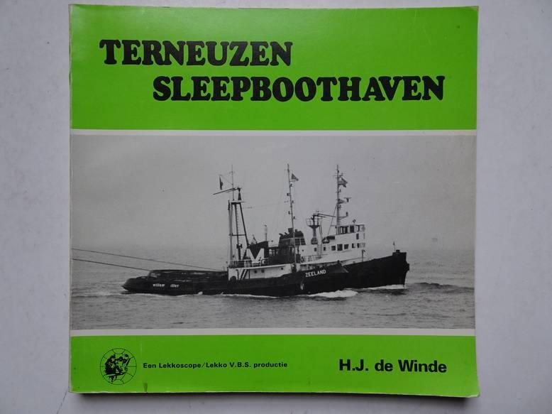 WINDE, H.J. DE. - Terneuzen sleepboothaven.