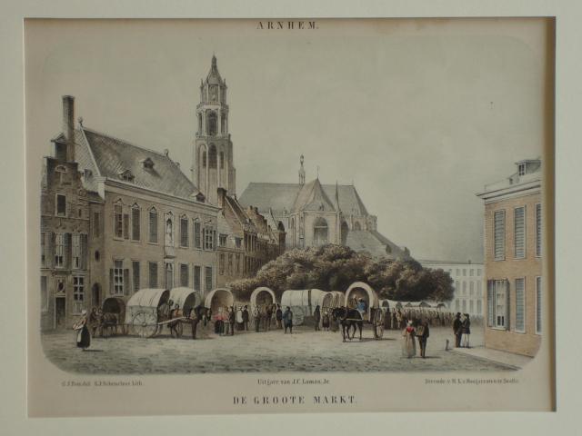 ARNHEM. - Arnhem. De Groote Markt.