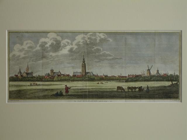 MIDDELBURG. - De Stad Middelburg, aan de Zuidzyde te zien.