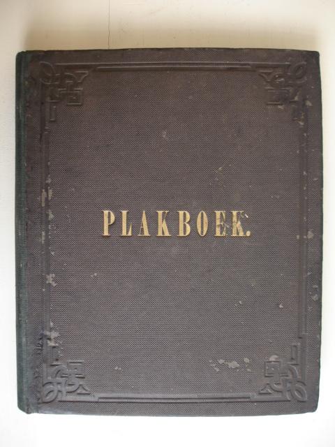 NO AUTHOR. - Plakboek (Scrapbook).