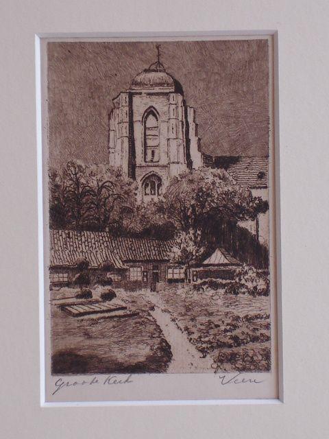 VEERE.. - Groote Kerk Veere.