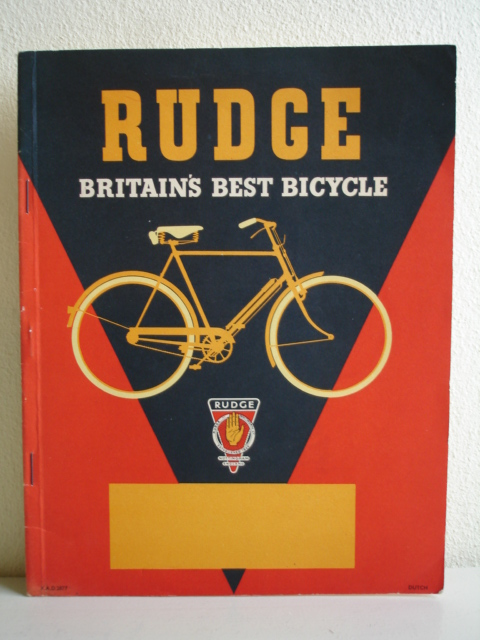 - Rudge, Britain's best bicycle.