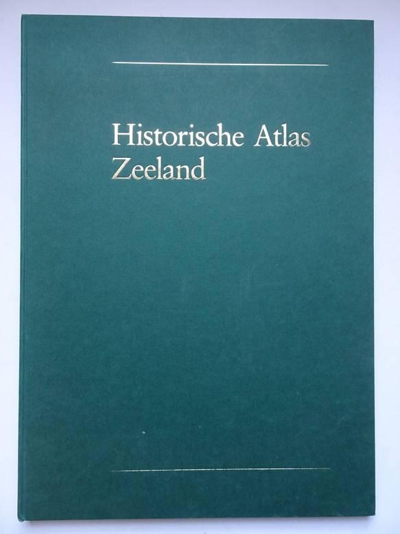 WIEBERDINK, G.L. (SAM.). - Historische atlas Zeeland; chromotopografische kaart des Rijks 1: 25.000
