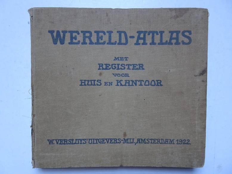 FREYTAG, G.. - Wereld Atlas voor Huis en Kantoor, met register.