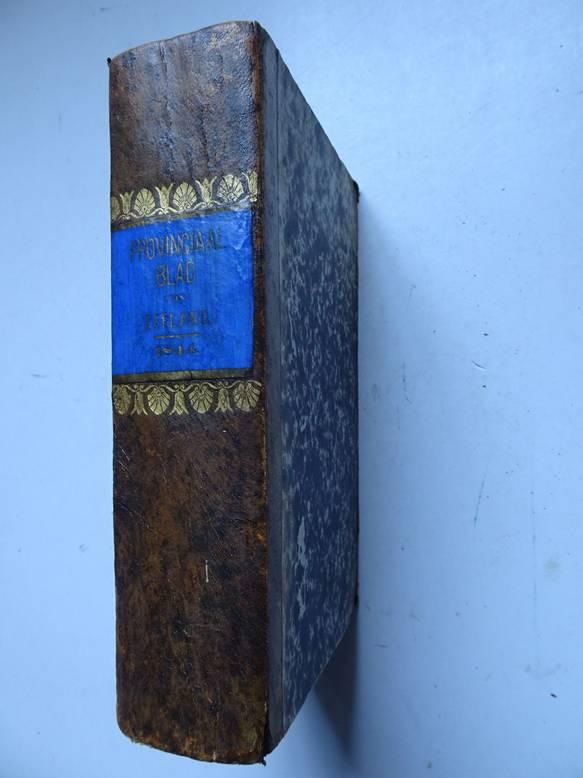 NO AUTHOR. - Provinciaal blad van Zeeland over het jaar 1844.