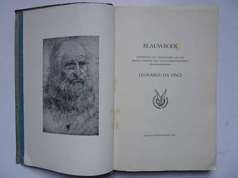 NO AUTHOR. - Blauwboek uitgegeven ter gelegenheid van het eerste lustrum der vliegtuigbouwkundige studievereniging