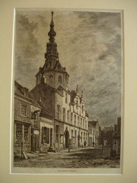 ZIERIKZEE. - Het stadhuis te Zierikzee.