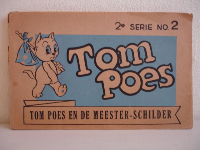 TOONDER, MARTEN. - Tom Poes en de meester-schilder.