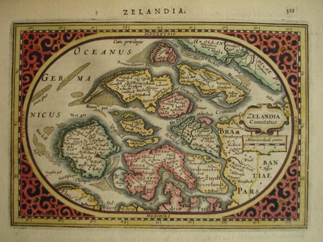 ZEELAND.. - Zelandia Comitatus.