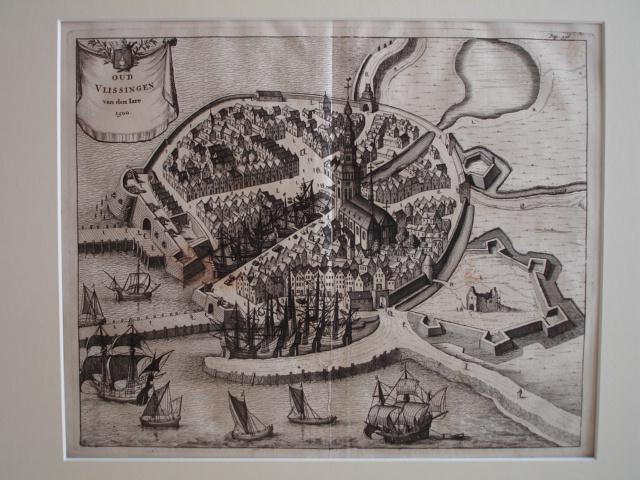 VLISSINGEN. - Oud Vlissingen van den Jare 1500.