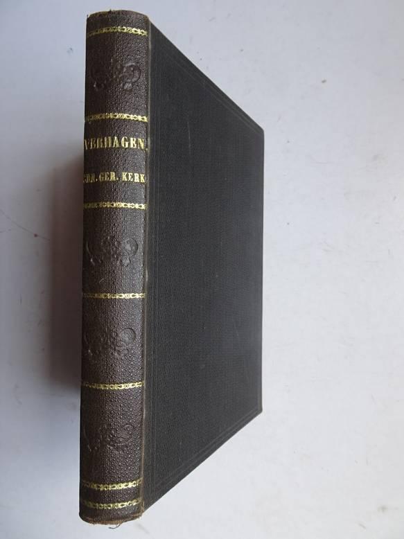 VERHAGEN JR., J.. - De geschiedenis der Christelijk Gereformeerde Kerk in Nederland.