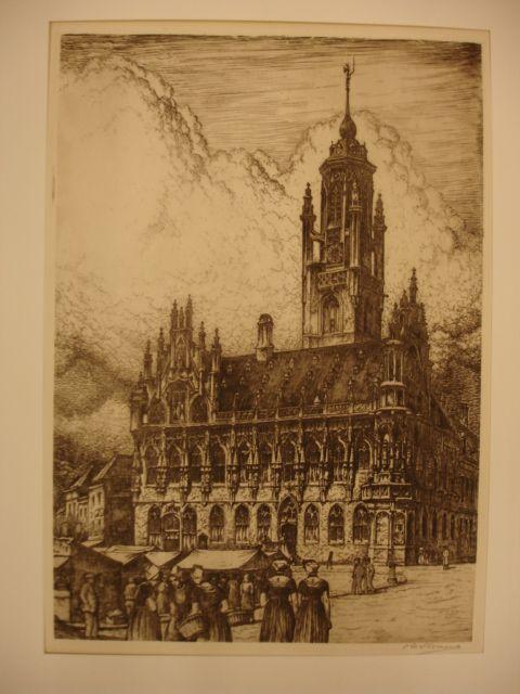 MIDDELBURG. - Stadhuis Middelburg.