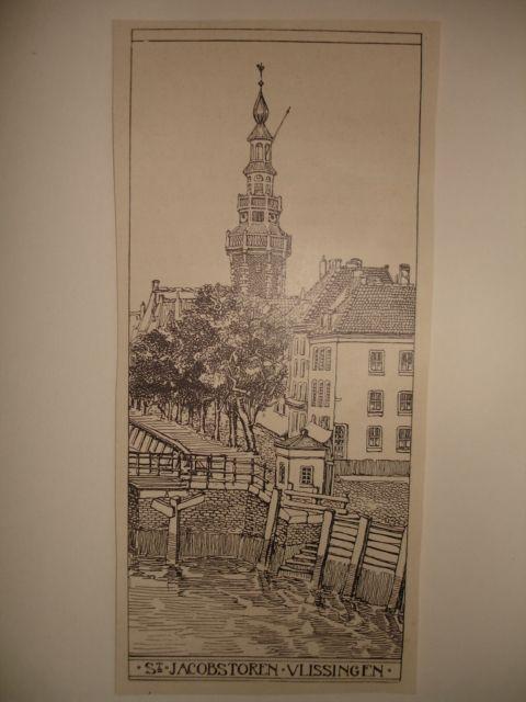 VLISSINGEN. - St. Jacobstoren Vlissingen.