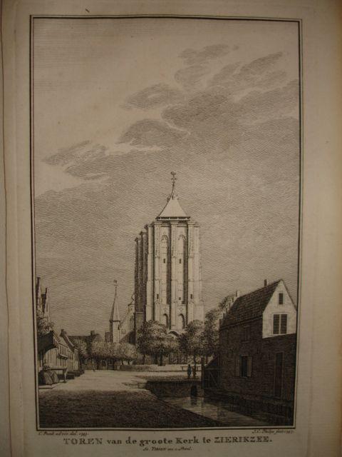 ZIERIKZEE. - Toren van de groote kerk te Zierikzee.