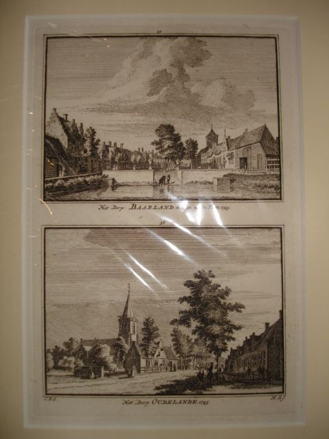 BAARLAND. - Het Dorp Baarland te zien uit de Vaate - Het Dorp Oudelande.