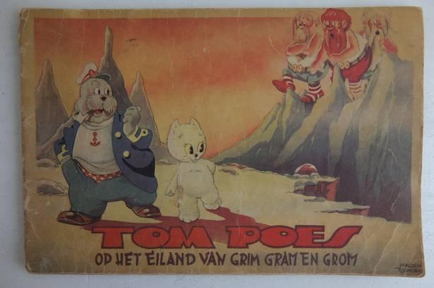 TOONDER, MARTEN. - De Avonturen van Tom Poes. Serie 1, deel 3. Tom Poes op het Eiland van Grim, Gram en Grom.
