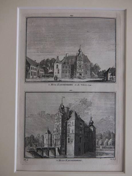 VAASSEN. - 't Huis Kannenberg in de Veluwe, 1744/ 't Huis Kannenberg.