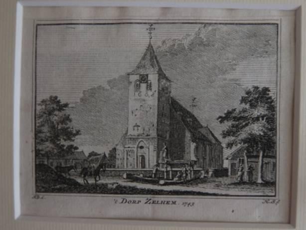 ZELHEM. - 't Dorp Zelhem, 1743.