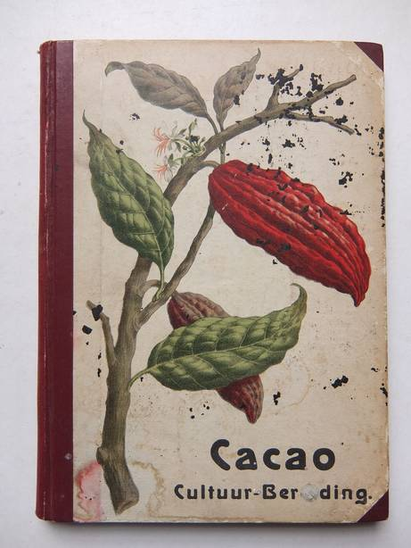 WIELEN, P. VAN DER. - Cacao. Cultuur en Bereiding; een populair overzicht.