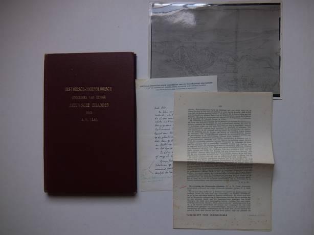 VLAM, A.W.. - Historisch-morfologisch onderzoek van eenige Zeeuwsche eilanden.
