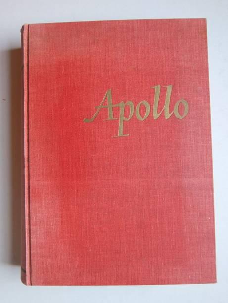 TIELROOY, JOHANNES & THIENEN, FR. W.S. VAN (RED.). - Apollo. Maandschrift voor literatuur en beeldende kunsten. Jaargang 1946.